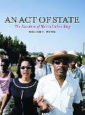 Act of State The Execution of Martin Luther King