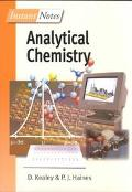 Instant Notes Analytical Chemistry