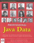 Professional Java Data