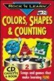 Colors, Shapes & Counting (Rock N Learn)