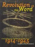 Revolution of the Word A New Gathering of American Avant Garde Poetry 1914-1945
