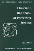 Clinician's Handbook of Preventive Services