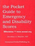 Pocket Book of Emergency And Disability Scores