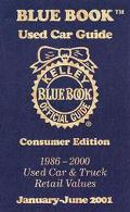 Kelley Blue Book Used Car Guide: Consumer Edition, 1986-2000 Models (Kelley Blue Book Used C...
