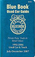 Kelley Blue Book Used Car Guide Consumer Edition