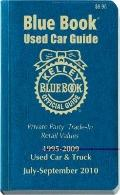 Kelley Blue Book Used Car Guide: July-September 2010 : Consumer Edition
