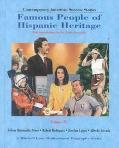 Famous People of Hispanic Heritage: Selena Quintanilla Perez, Robert Rodriguez, Josefina Lop...