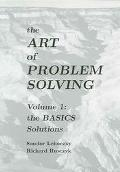 Art of Problem Solving Volume 1 The BASICS Solutions
