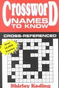 Crossword Names to Know - Shirley A. Kading - Paperback