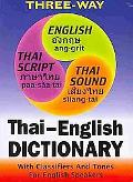 New Three-Way Thai-English, English-Thai Pocket Dictionary: For English Speakers with Tones ...