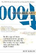 Vocabulary 4000 The 4000 Words Essentially for an Educated Vocabulary