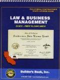 Law & Business Management; California Contractors State License Exam - Quick Prep Flashcards