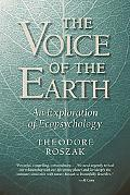 Voice of the Earth An Exploration of Ecopsychology