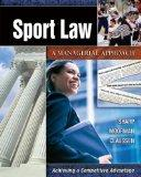 Sport Law A Managerial Approach