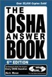 Osha Answer Book The Employers Manual That Answers Every Osha Question