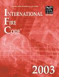 International Fire Code 2003