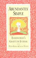 Abundantly Simple Everywoman's Gratitude Journal