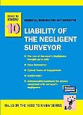 Liability of the Negligent Surveyor