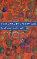 Personal Property Law Text and Materials