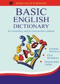 Basic English Dictionary For Elementary and Pre-Intermediate Students