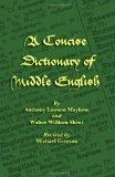 A Concise Dictionary of Middle English (Middle English Edition)