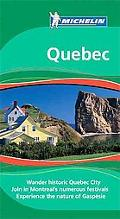 Michelin Travel Guide Quebec
