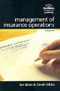 Management of Insurance Operations