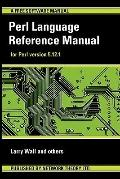 Perl Language Reference Manual - for Perl Version 5 1