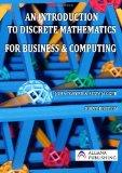 An Introduction to Discrete Mathematics for Business and Computing