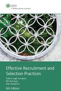 Effective Recruitment and Selection Practices