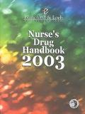 Nurse's Drug Handbook 2003
