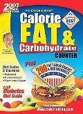 Calorie King Calorie, Fat & Carbohydrate Counter 2007