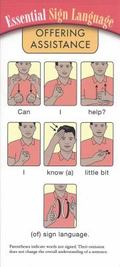 Essential Sign Language-Offering Assistance (15 Pk)