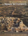 Structure And Meaning in Human Settlements