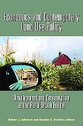 Economics And Contemporary Land Use Policy Development And Conservation at the Rural-urban F...