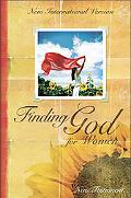 Niv Finding God for Women