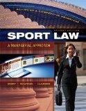 Sport Law : A Managerial Approach