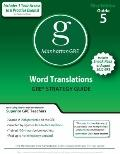 Word Translations GRE Preparation Guide, 1st Edition