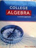 College Algebra : A Concise Approach Text