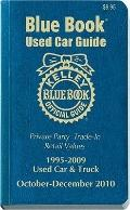 Kelley Blue Book Used Car Guide, October-December 2010 : Consumer Edition