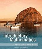 Introductory Mathematics (Concepts with Applications Series)