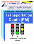 Transportation Depth (PM) for Civil PE License