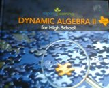Dynamic Algebra II for High School-Texas Edition