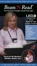 Beam N Read LED 3 Hands-Free Travel Reading Light