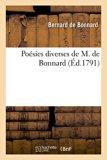 Poesies Diverses de M. de Bonnard (French Edition)