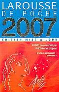 Larousse De Poche 2007