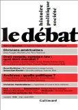 Revue Le Dbat, numro 115 : Mai-aot 2001