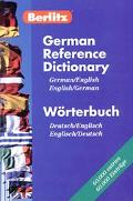 Berlitz German-English Reference Dictionary - Berlitz Publishing - Paperback