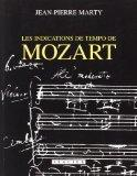 Les indications de tempo de Mozart (French Edition)