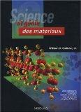 sciences et genie des materiaux